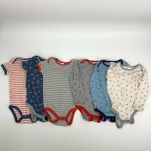 Baby Boden Onesie Bundle 2-3 Year Penguin Stripe